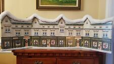 """Byers Choice Accessory """" New Market Street """" Backdrop for Carolers Display"""