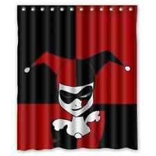 Brand New Harley Quinn Shower Curtain 60 x 72 Inch
