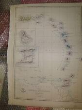 Leeward +Windward Islands1863 Dispatch Atlas- drawn/EngravedE.WellerFramed20more
