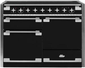 "AGA Elise 48"" Easy Clean 5 Zones 3 Oven Matte Black Induction Range AEL481INMBL"