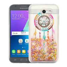 For Samsung Galaxy J3 EMERGE - Dream Catcher Stars Glitter Liquid Wate