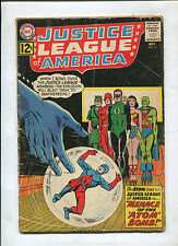 JUSTICE LEAGUE OF AMERICA #14 (3.5) THE MEANACE OF THE ATOM BOMB