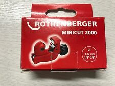 ROTHENBERGER minicut 2000 tubi taglierina 3 - 22mm 7.0105