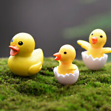 Duck DIY 2pcs Crafts Garden Ornament Miniatures Bonsai Lawn Decoration Figurine
