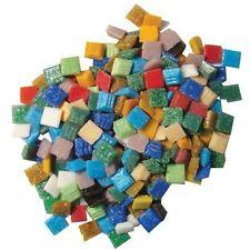 Jennifer's Mosaics 3/8-Inch Venetian Glass Mosaic Tile Mixed Color 16-Oz #619