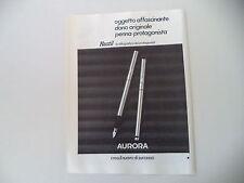 advertising Pubblicità 1979 AURORA HASTIL