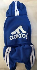"Adorable Blue ""Adidog"" Dog Sweater ""Sweatsuit"" Size Small-Great Gift! GLOBAL!"