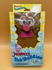Vintage Fozzie Bear 1988 Tub Buddies Jim Henson's Muppets Hand Puppet Wash Cloth