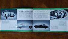 Jaguar XK140 & Mk.VII type 'M' brochure prospekt, 1955