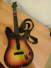 PS2 Guitar Hero wireless controller with strap model 95449.805 Redoctane