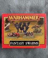Warhammer Quest Fantasy Swarms Snotlings Rats Bats Spiders Games Workshop Bundle
