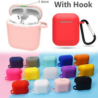 Strap Holder Silicone Protective Case Cover For Apple Airpod Accessories Airpods