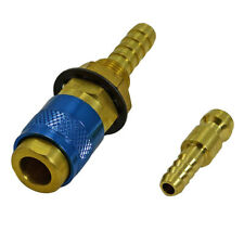 2pcs/Set TIG Welding Gas&Water Quick Connector Fitting Hose Connection Tool Kit