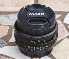 Nikon Series E 50mm f/1.8 Black Fixed Prime Standard manual Focus Lens