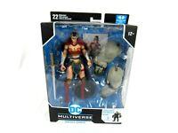 DC Multiverse Wonder Woman Batman Last Knight On Earth Bane BAF McFarlane