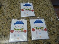 24 You're Invited Christmas Invitations cards Frosty the Snowman 3 packs 8 lot