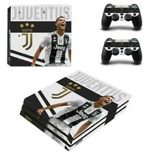 Juventus FC Ronaldo Vinyl Skin Decals Stickers for PS4 Pro Console Controllers