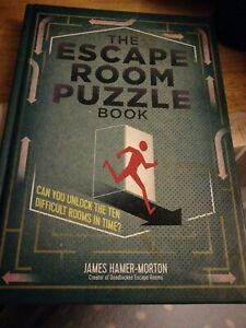 The Escape Room Puzzle Book by James Hamer-Morton (Hardback), Book