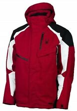 Spyder Men's Red Black Leader Jacket Size XXL
