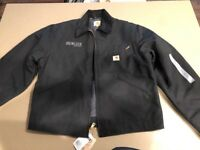 NEW WITH TAGS Carhartt J001BLK MENS L JACKET Black