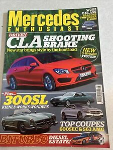 Mercedes Enthusiast. May 2015.  300Sl. New G Wagon. Top Coupe's.