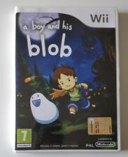 A BOY AND HIS BLOB NINTENDO WII  VERSIONE ITALIANA CON MANUALE
