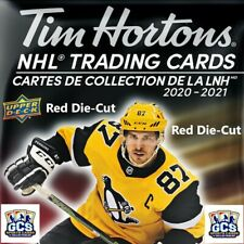 2020-21 Upper Deck Tim Hortons **Red Die-Cut** U Pick Complete your Set