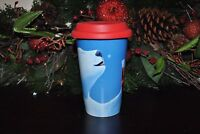 NEW COCA-COLA TRAVEL CUP LID   PORCELAINE Markings for GIBSON Polar Bear 12 oz