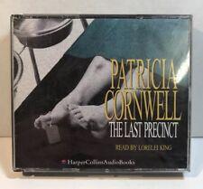 Patricia Cornwell The Last Precinct Audio Book 3 Discs VGC FREE P&P IN THE UK
