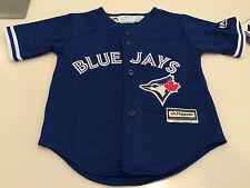 Toronto Blue Jays Infant Kids Child Large Age 6x/7 Jersey Cool Base Alt 3rd MLB