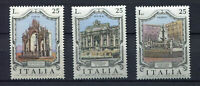 S8025) Italy Republic MNH 1973, Fountains 3v Naples Rome Palermo