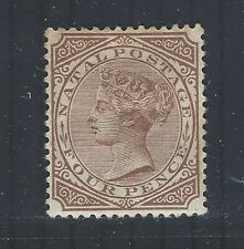 South Africa - Natal QV 1882-89 sg102 MM (wmk Crown CA)