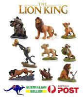 Lion King Disney 9 PCS Action Figure Cake Topper Toys Decoration Simba Scar (B)