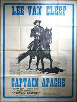 Plakat Kino Western Captain Apache Lee Van Cleef - 120 X 160 CM