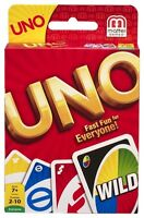 Uno Card Game - Classic Card Game  - Made in USA - Brand New