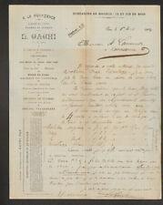 """PAU (64) DUVETS / LAINES / PLUMES / SOIES """"A LA PROVIDENCE / L. GACHI"""" en 1904"""