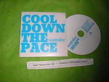 CD Pop Mattafix - Cool Down The Pace (1 Song) Promo EMI BUDDHIST PUNK