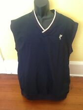 ASHWORTH GOLF Vest Weather Systems Jacket MEN'S  MEDIUM BLUE Navy
