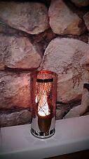 Colonne à flamme cheminée électrique éclairage INOX 31cm Firebox edelstahl443