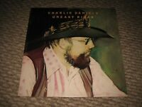 """Vintage 1973 Charlie Daniels """"Uneasy Rider"""" LP - EPIC Records (E-34369) NM"""