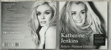 KATHERINE JENKINS - Believe (Platinum Edition) - 2010 CD Album and DVD