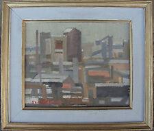 Elof ulaner 1905-1992, industrie scène, datée 1956