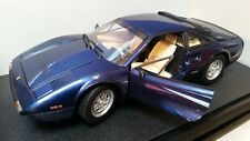 HOT WHEELS 1/18 Diecast FERRARI 308 GTB  w/ Box - Rare METALLIC BLUE! MINT!