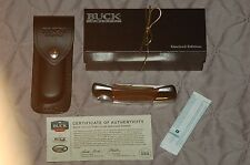 VERY RARE BUCK GRSCC 500 S30V COA BNIB ONLY 100 MADE! COLLECTORS CLUB EXCLUSIVE