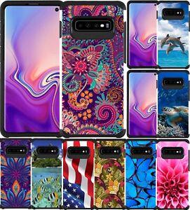 Samsung Galaxy S10 / S10 Plus / S10e Case Slim Hybrid Armor Colorful Phone Cover