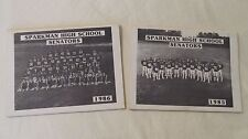 1985 & 1986 Sparkman High School Senators Football Programs Huntsville AL