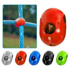 Climbing Rope Net Plastic Connector for Outdoor Swing Climbing Rope button 5pcs