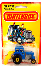 Vintage 1980 Matchbox 75 Series #46 Ford Tractor Blue New Factory Sealed