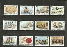 a88 - TRISTAN DA CUNHA - SG349-360 MNH 1983 ISLAND HISTORY DEFINITIVES 1p - £2