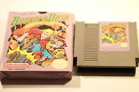 NINTENDO  NES BOULDER DASH  GAME  (GAME + BOX)   PAL